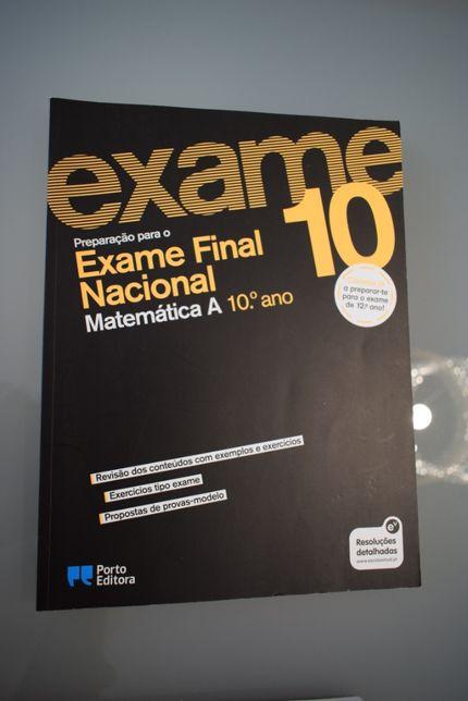 Preparar para o Exame Final Nacional Matemática A 10ºano, Porto Editor