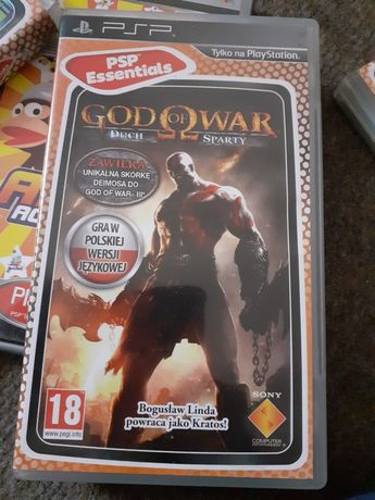 God of war duch sparty psp