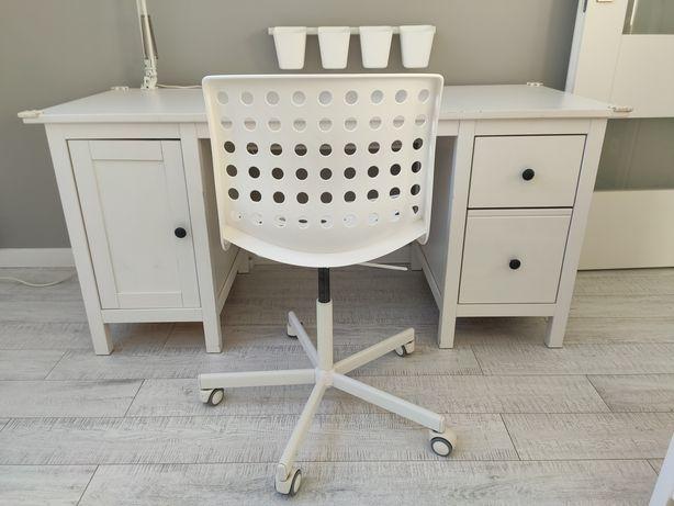 Biurko Hemnes + krzesło super stan. Dostawa GRATIS!