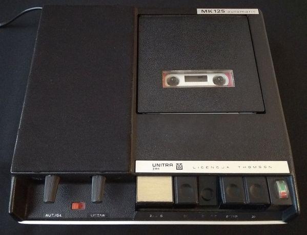Magnetofon kasetowy MK 125 Unitra ZRK, licencja Thomson