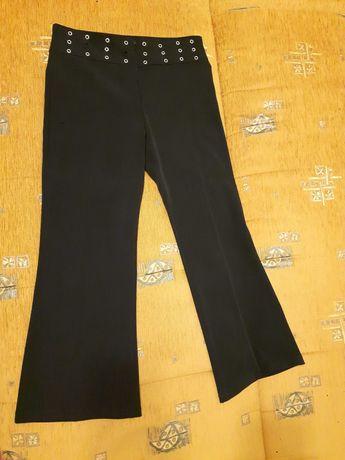 Spodnie damskie czarne 7/8 rozmiar S