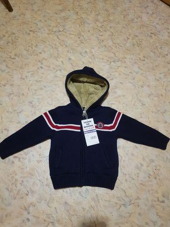Меховушка, курточка от французского бренда terre de marins(оригинал)