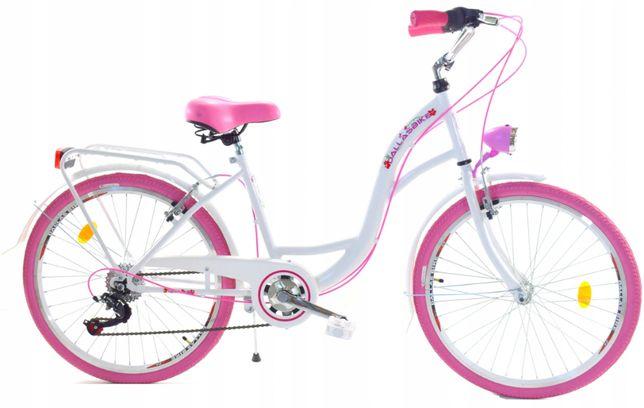 Rower młodzieżowy 24 cale 6 biegów