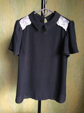 Блузка черная р.44-46