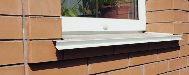 Отлив на окно белый коричневый красный зеленый глянец матовый