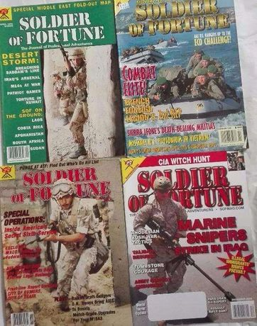 Revista Soldiers Of Fortune
