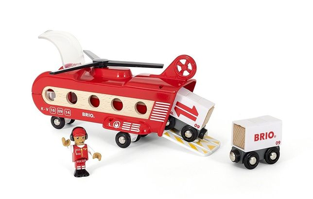 Brio (Брио) 33886 Деревянная железная дорога Грузовой вертолет