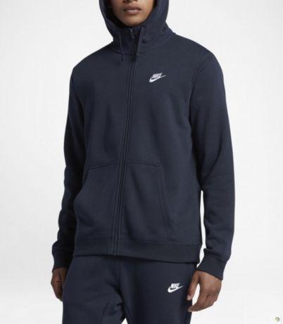 Толстовка Nike M Nsw Hoodie Fz Ft Club Зип Худи Adidas Jordan
