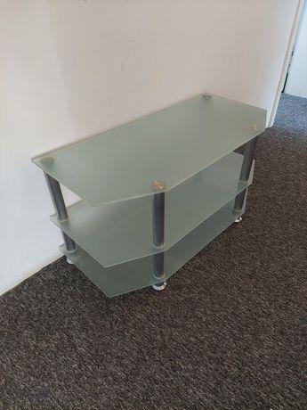 Szklany stolik szafka pod telewizor RTV