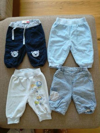 Spodnie ciepłe 0-3 m-ce