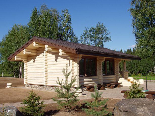 дом дача беседка деревянная 36-150м