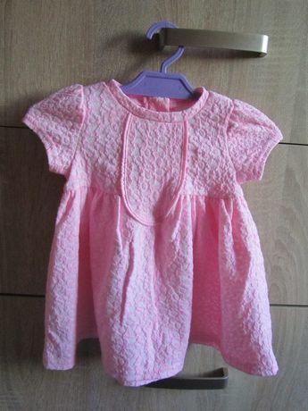 Sukienka różowa 68