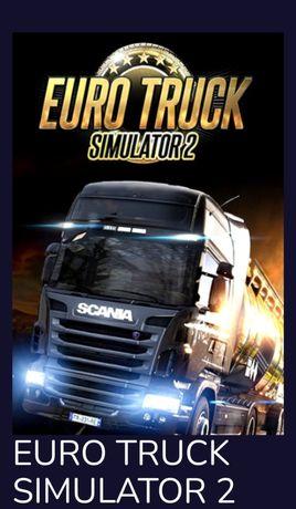 Euro Truck simulator 2 cała Europa +dodatkowe mapy+Hitman 2