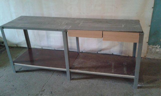 стол-верстак для гаража