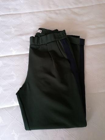 Calças clássicas verdes
