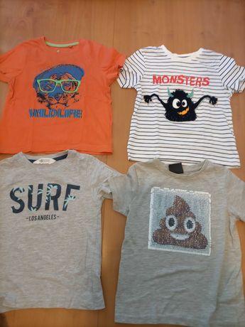 T-shirts 3/4 anos