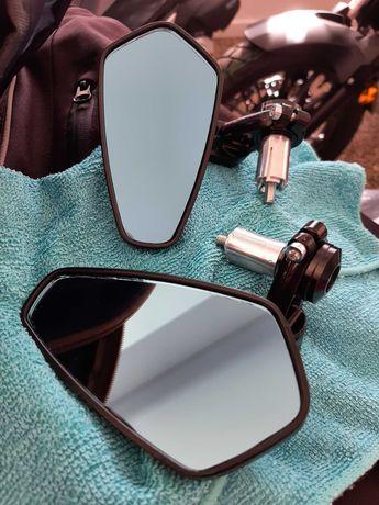 Espelho mota punho