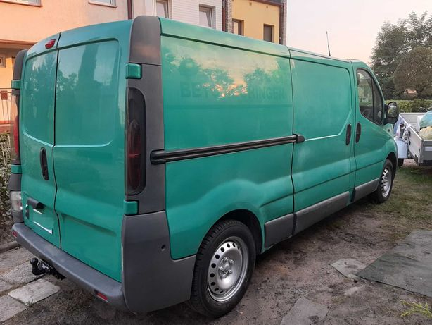Opel Vivaro L2H1 2004r 1.9Di Długi Pierwszy właściciel Zamiana laweta