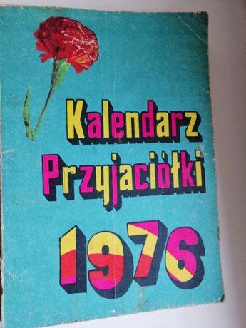 Kalendarz Przyjaiółki 1976r