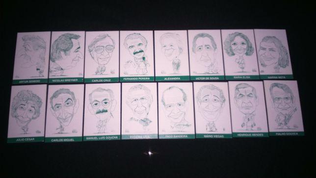Calendários - Séries Caricaretas de Aniceto Carmona