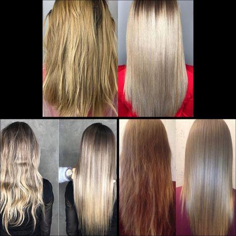 Окрашивание волос,ботокс