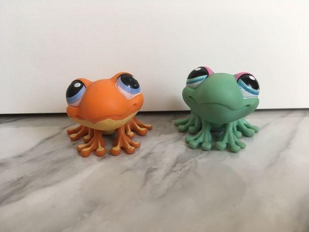 Littlest pet shops/zestaw żabek