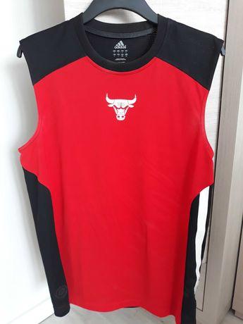 Koszulka,t-shirt,jersey NBA Chicago Bulls treningowa,adidas.Jordan.