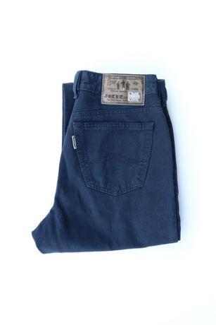 Męskie spodnie jeansy JOKER W32 L32 granatowe