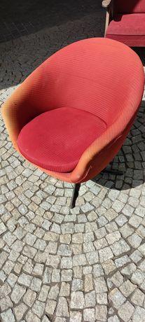Krzesełko PRL fotel lisek chierowski kwietnik krzesła stół stolik RTV