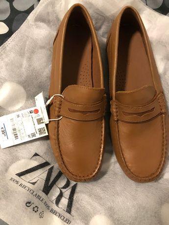 Туфли лоферы Zara, размер 36 новые