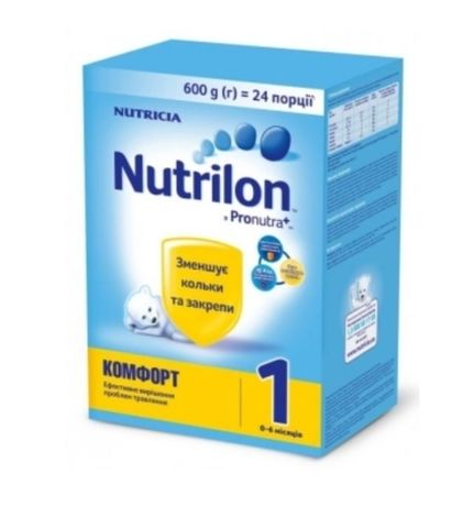 Сухая молочная смесь Nutrilon Комфорт 1, 600 г