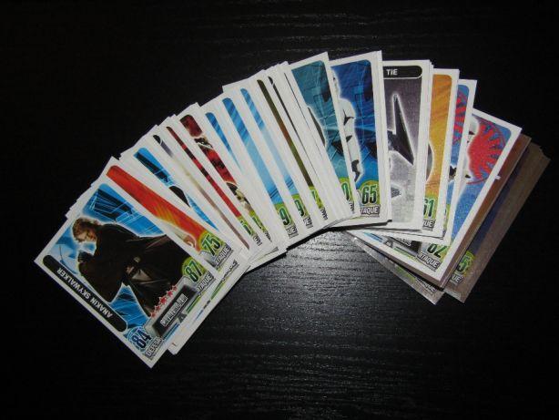 Continente Star Wars Troco cartas