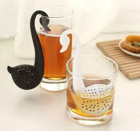 Zaparzacz do herbaty łabędź