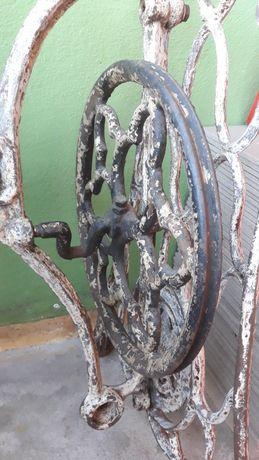 Oryginalne koło do antycznej maszyny Singer