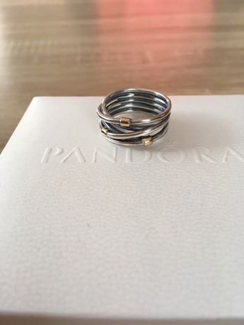 Pandora Liny roz 54 pierścionek obrączka