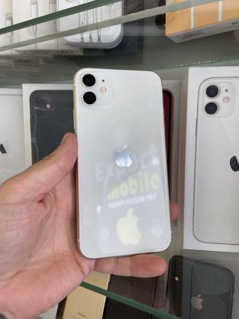 iPhone 11 128gb White Neverlock  Відмінний стан