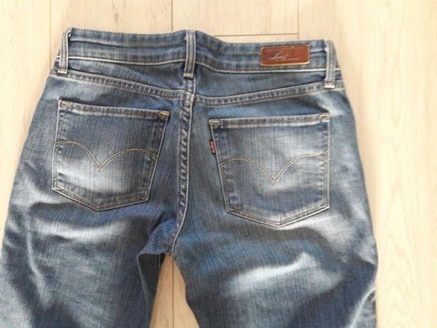 Spodnie dżinsowe Levis damskie