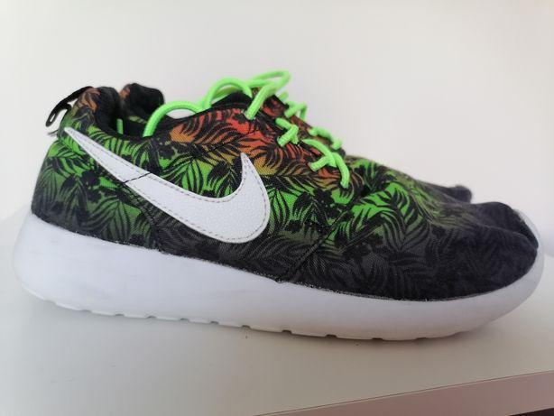 Buty nike tanjun 36 zielone dżungla neonowe