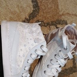 Buty białe trampki perły 32 GEOX