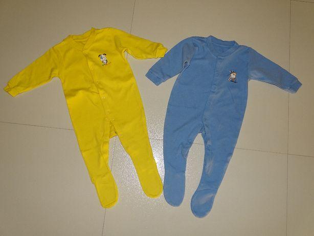 Pajace Early Days 2-pack rozm. 6-12m pajacyki piżamki