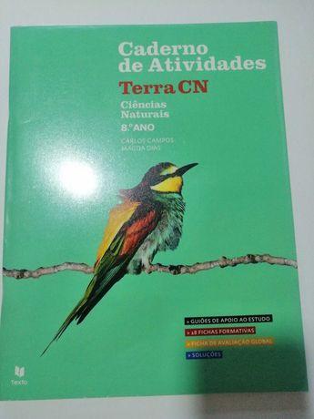 Terra CN - Ciências Naturais - 8º ano - Caderno de atividades