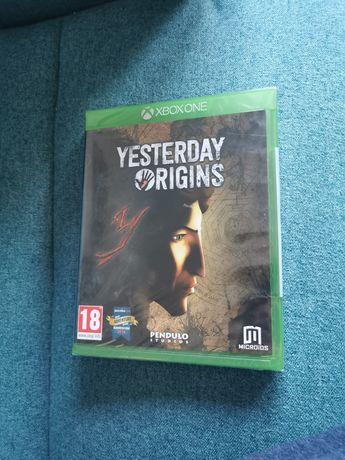 Yesterday Origins Xbox One gra nowa w folii