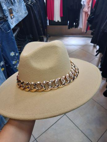 Nowy karmelowy kapelusz bucket hat czapka