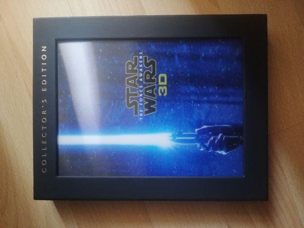 Star wars o despertar da força 2d e 3d bluray limitada force awakens