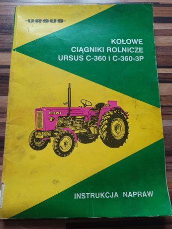 Książka, instrukcja napraw Ursus c 360 i C360-3P