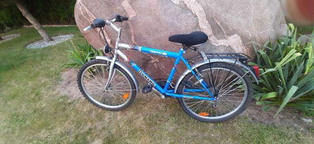 Rower z przerzutkami  na  kołach 24 cale