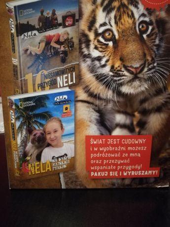 2 książki przygód Neli małej reporterki