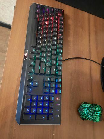 Игровая клавиатура TRUST GXT 890 CADA (+мышь TRUST GTX 105)