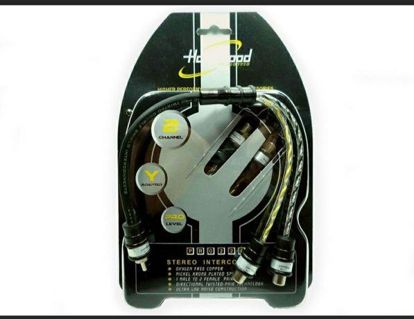 Rozdzielacz typu Y RCA Hollywood Przewód sygnałowy PRO-22F