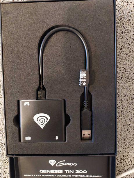 Adapter mysz/klawiatura GENESIS Tin 200 do PS4/XONE/PS3/SWITCH